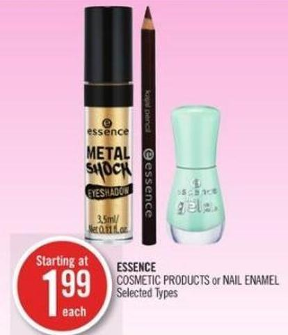 Essence Cosmetic Products or Nail Enamel