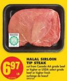Halal Sirloin Tip Steak