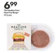 The Meatless Farm Meat Free Burger 227g