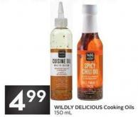 Wildly Delicious Cooking Oils