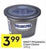 Kraft Philadelphia Cream Cheese 340 g