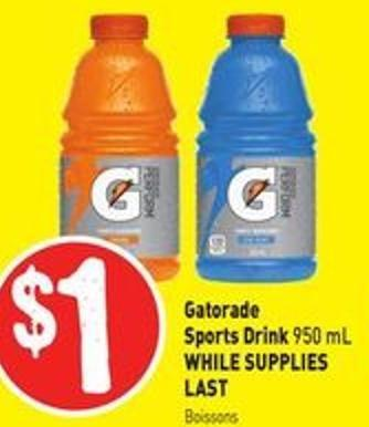 Gatorade Sports Drink 950 mL