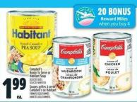 Campbell's Ready To Serve Or Habitant Soup