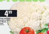 Large Cauliflower