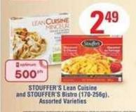 Stouffer's Lean Cuisine And Stouffer's Bistro - 170-256g