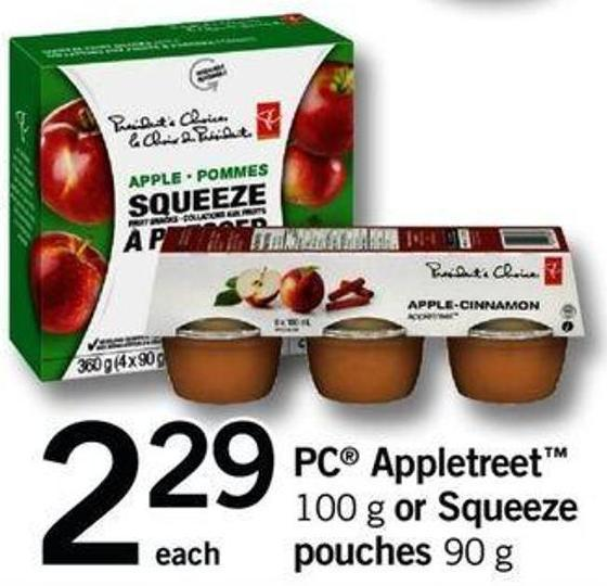 PC Appletreet - 100 G Or Squeeze Pouches - 90 G