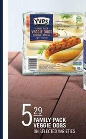 Yves Family Pack Veggie Dogs