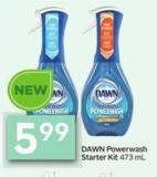 Dawn Powerwash Starter Kit 473 mL