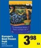 Europe's Best Frozen Fruit - 600 g