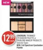 Covergirl Trunaked Eyeshadow Palette or Trublend Makeup Products