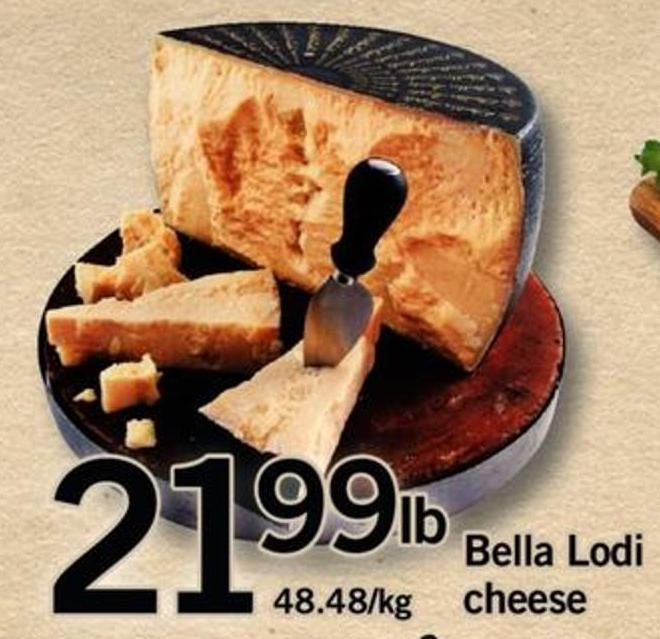 Bella Lodi Cheese
