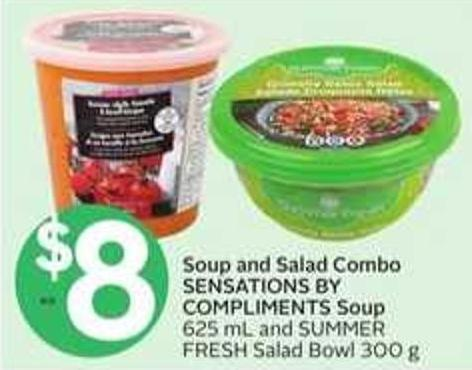 Soup And Salad Combo Sensations By Compliments Soup