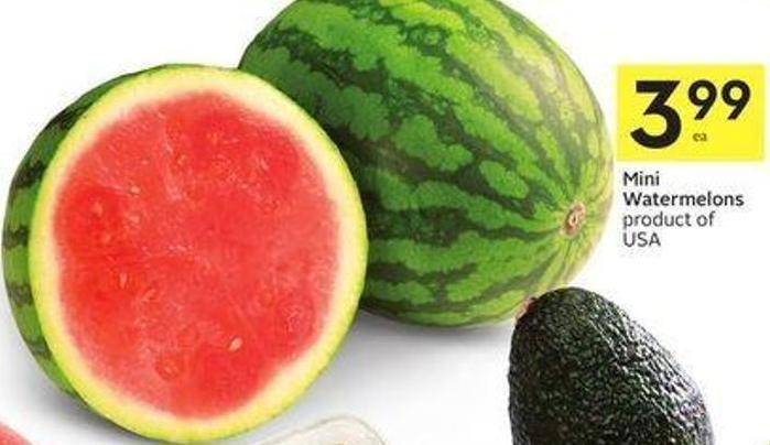 Mini Watermelons Product of USA
