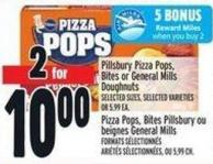 Pillsbury Pizza Pops - Bites Or General Mills Doughnuts
