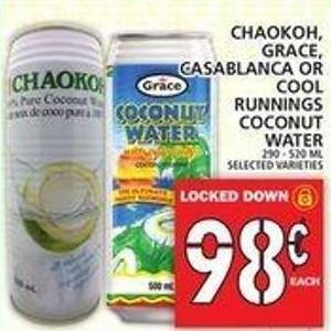 Chaokoh - Grace - Casablanca Or Cool Runnings Coconut Water