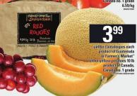 Jumbo Cantaloupes Each Or Farmer's Market Red Or Yellow Potatoes - 10 Lb