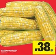 Bi-colour Sweet Corn