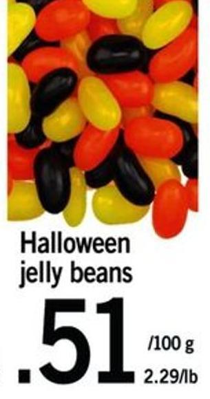 Halloween Jelly Beans