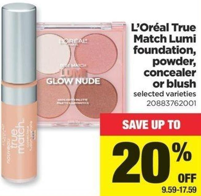 L'oréal True Match Lumi Foundation - Powder - Concealer Or Blush