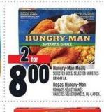 Hungry‑man Meals | Repas Hungry‑man