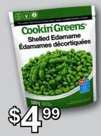 Cookin' Greens - 500 G
