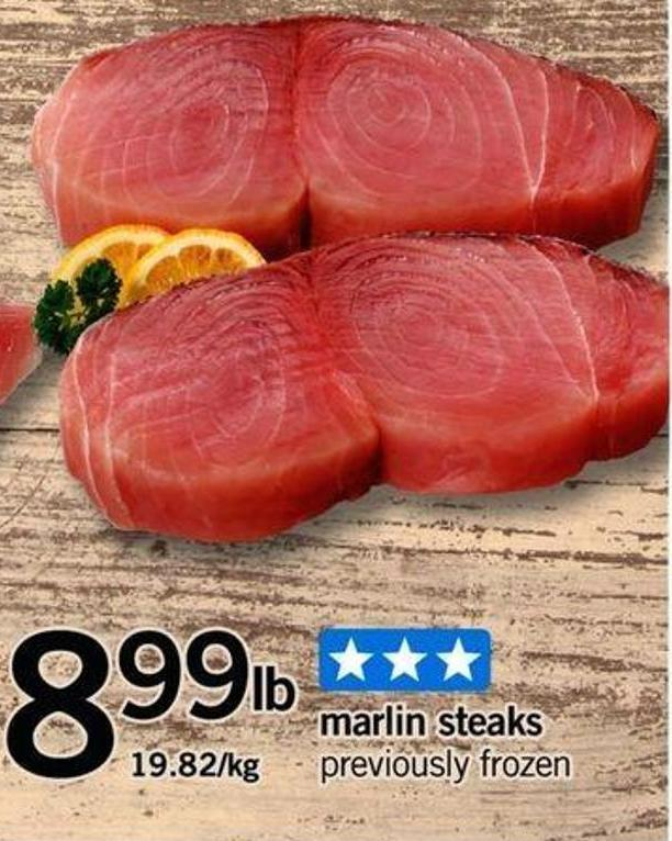 Marlin Steaks