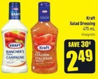 Kraft Salad Dressing 475 mL