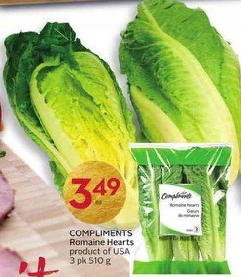 Compliments Romaine Hearts