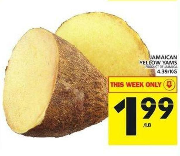Jamaican Yellow Yams