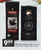 Kicking Horse Coffee 454 g or Muskoka Coffee 400-454 g