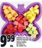 Butterfly Fruit Tray 1.3 Kg Butterfly Vegetable Tray 995 g