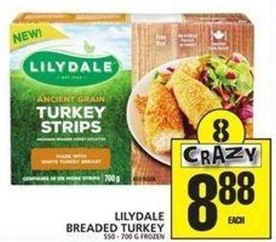 Lilydale Breaded Turkey