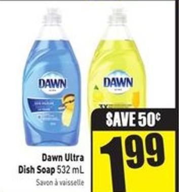 Dawn Ultra Dish Soap 532 mL