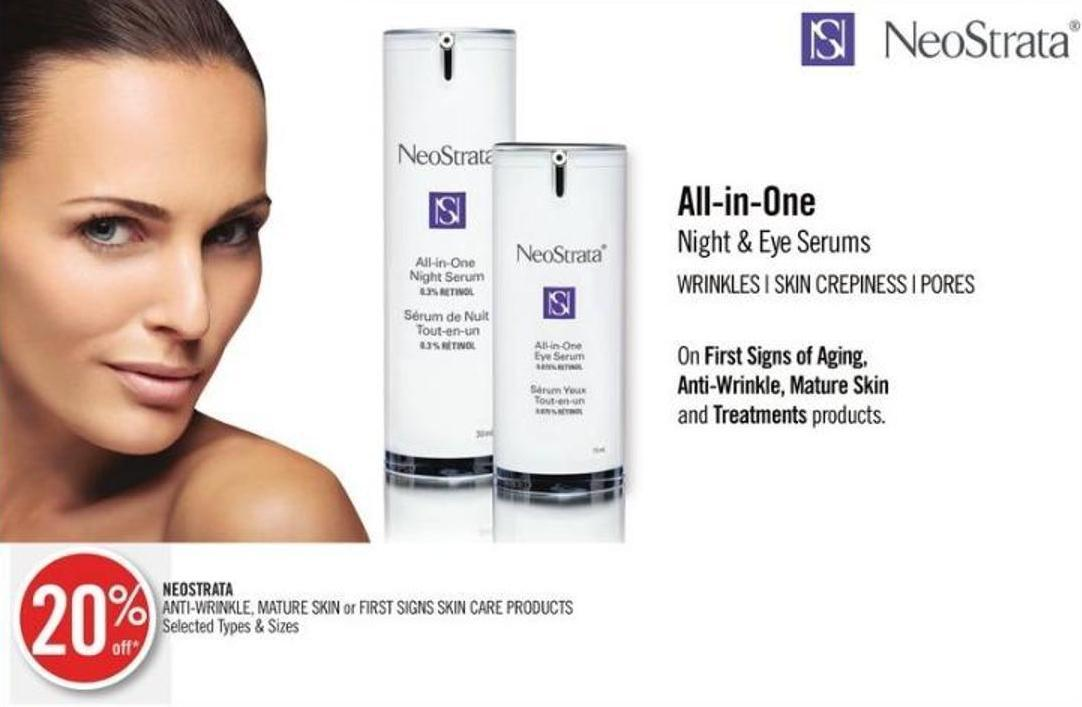 Neostrata Anti-wrinkle - Mature Skin or First Signs Skin Care Products