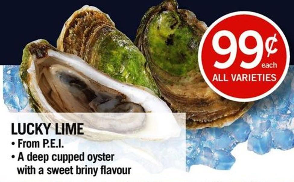 Lucky Lime Oyster
