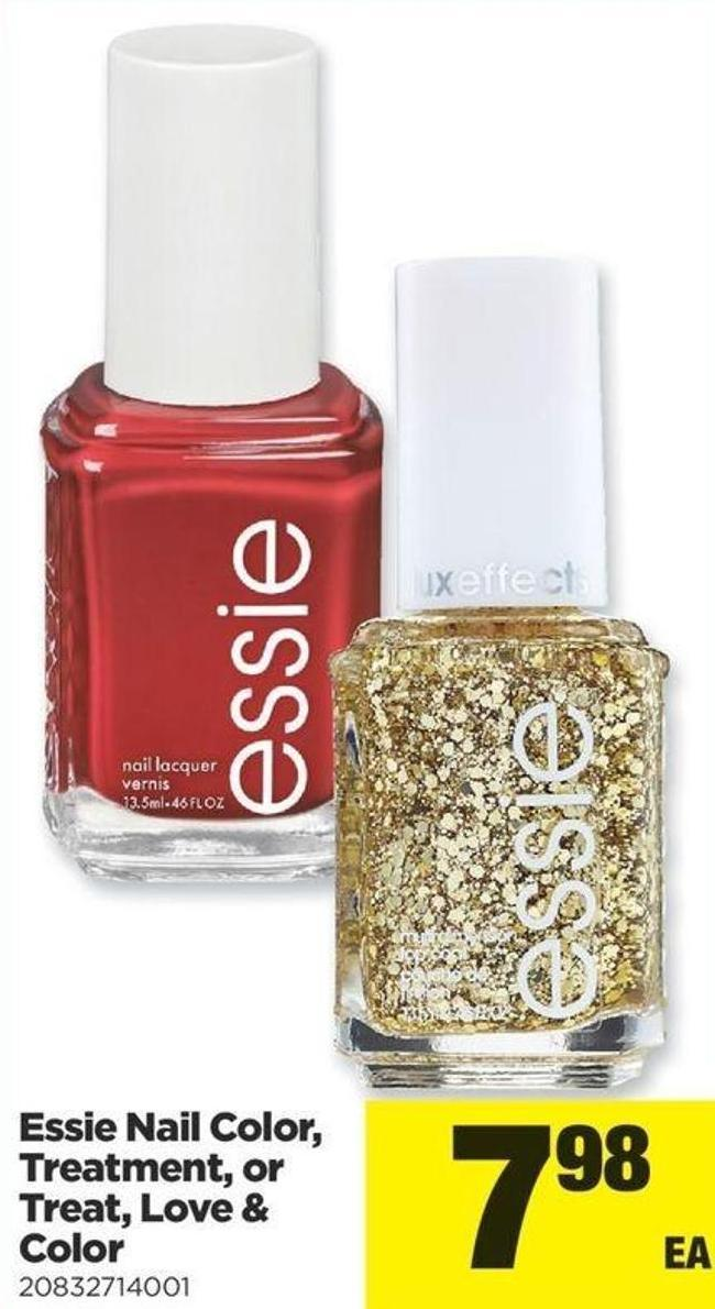Essie Nail Color - Treatment - Or Treat - Love & Color