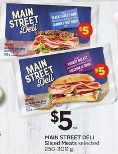 Main Street Deli Sliced Meats Selected 250-300 g