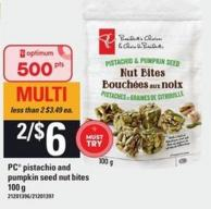 PC Pistachio And Pumpkin Seed Nut Bites - 100 G