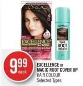 Excellence or Magic Root Cover Up Hair Colour