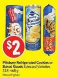 Pillsbury Refrigerated Cookies or Baked Goods