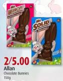 Allan Chocolate Bunnies 150g