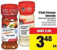 Club House Blends - 111-144 g