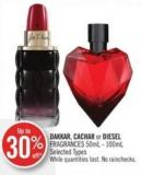 Dakkar - Cachar or Diesel Fragrances 50ml - 100ml