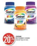 Centrum Multigummies Vitamins