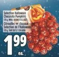 Selection Halloween Chocolate Pumpkins 170 g