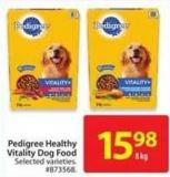 Pedigree Vitality Dog Food