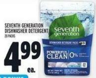 Seventh Generation Dishwasher Detergent