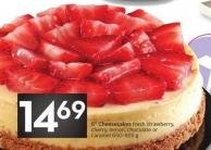 6in Cheesecakes