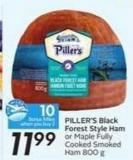 Piller's Black Forest Style Ham - 10 Air Miles Bonus Miles
