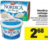 Nordica Cottage Cheese - 450-500 G/4x100 g